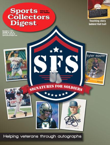 Sports Collectors Digest October 21, 2019 00:00