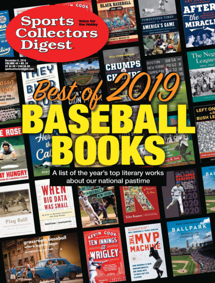 Sports Collectors Digest November 18, 2019 00:00