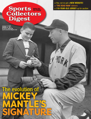 Sports Collectors Digest Jan 17 2020