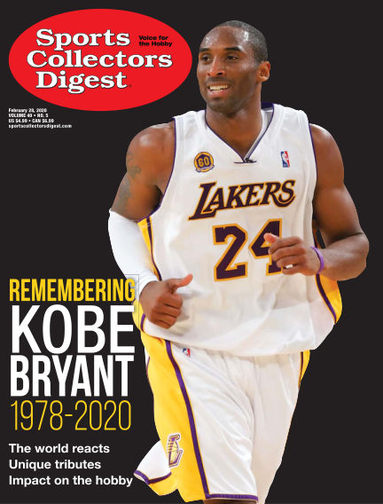 Sports Collectors Digest February 14, 2020 00:00