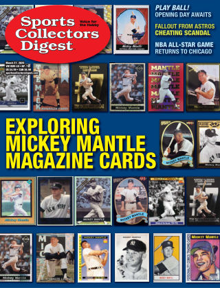 Sports Collectors Digest March 27 2020