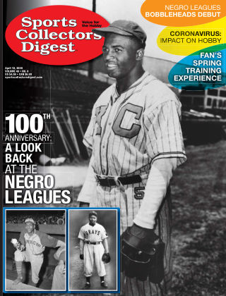 Sports Collectors Digest April 10 2020