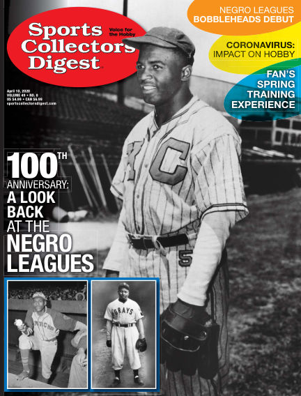 Sports Collectors Digest March 27, 2020 00:00