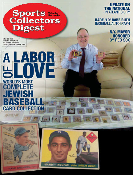Sports Collectors Digest May 08, 2020 00:00
