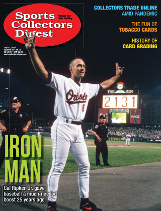 Sports Collectors Digest July 31 2020
