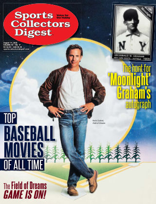 Sports Collectors Digest August 14 2020