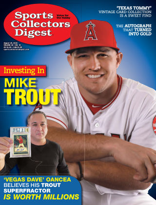 Sports Collectors Digest August 28 2020