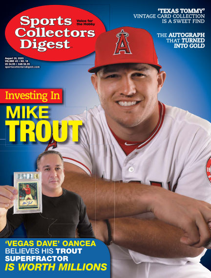 Sports Collectors Digest August 14, 2020 00:00