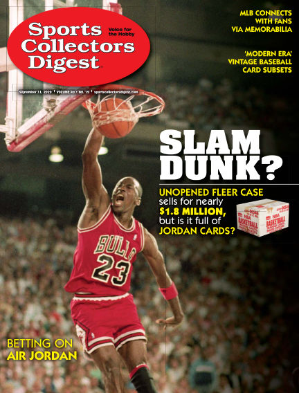 Sports Collectors Digest August 28, 2020 00:00