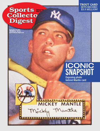 Sports Collectors Digest September 25 2020