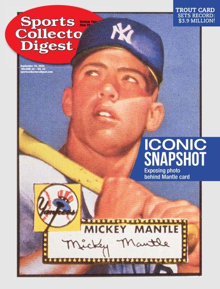 Sports Collectors Digest September 11, 2020 00:00