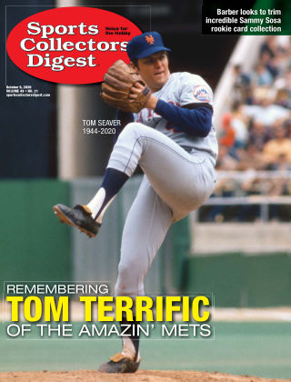 Sports Collectors Digest October 09 2020