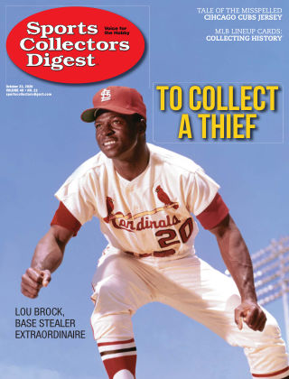 Sports Collectors Digest October 23 2020