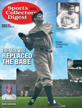 Sports Collectors Digest November 6 2020