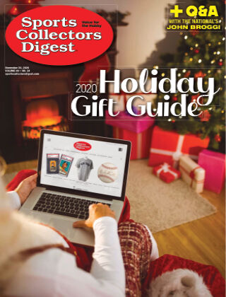 Sports Collectors Digest November 20 2020