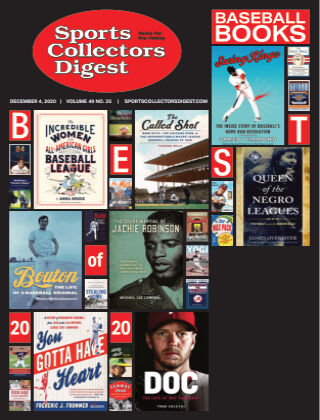 Sports Collectors Digest December 4 2020