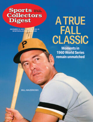 Sports Collectors Digest December 18 2020