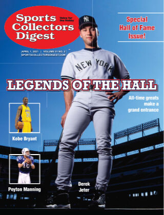 Sports Collectors Digest April 1 2021