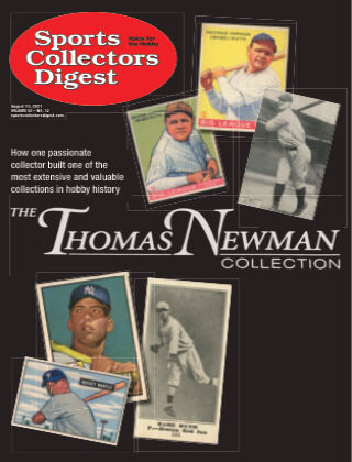 Sports Collectors Digest August 15 2021