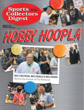 Sports Collectors Digest September 1 2021