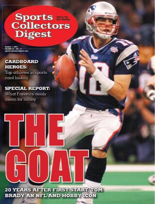 Sports Collectors Digest October 1 2021
