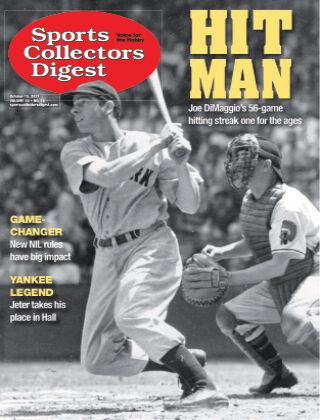 Sports Collectors Digest October 15 2021