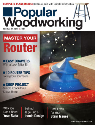 Popular Woodworking February 2019