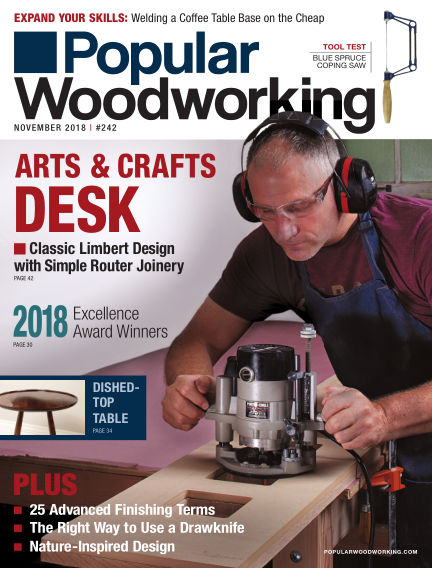 Popular Woodworking October 09, 2018 00:00