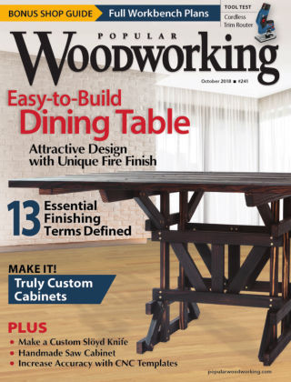 Popular Woodworking October 2018