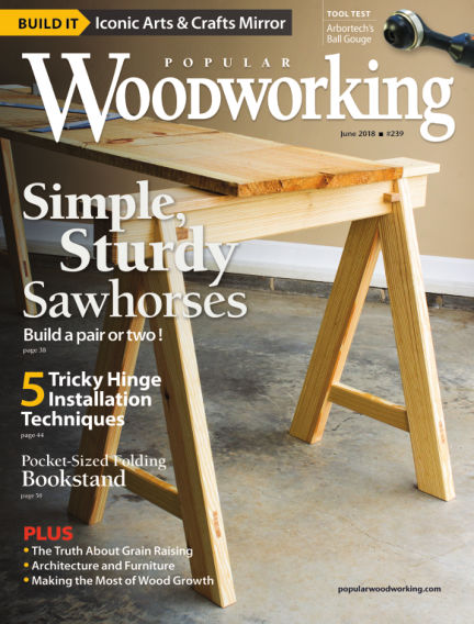 Popular Woodworking April 24, 2018 00:00
