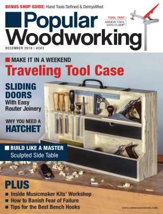 Popular Woodworking December 2018