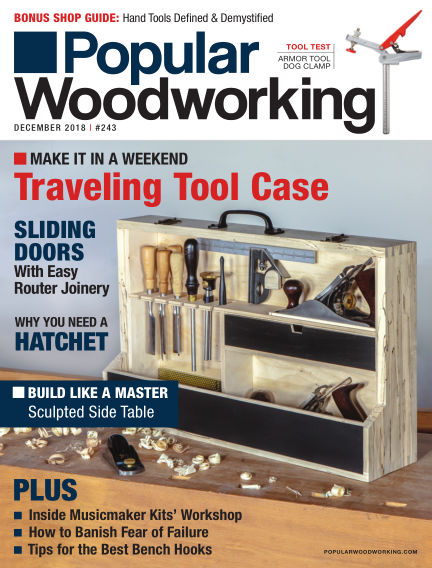 Popular Woodworking November 20, 2018 00:00