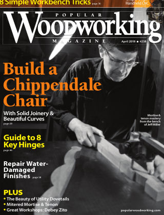 Popular Woodworking April 2018