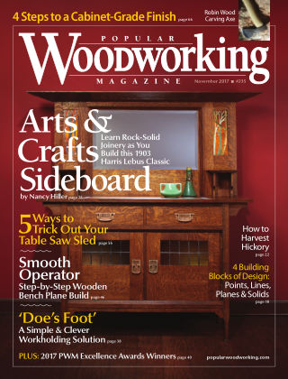 Popular Woodworking November 2017