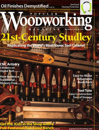 Popular Woodworking December 2017