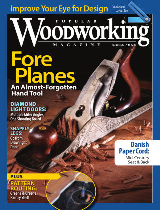 Popular Woodworking August 2017
