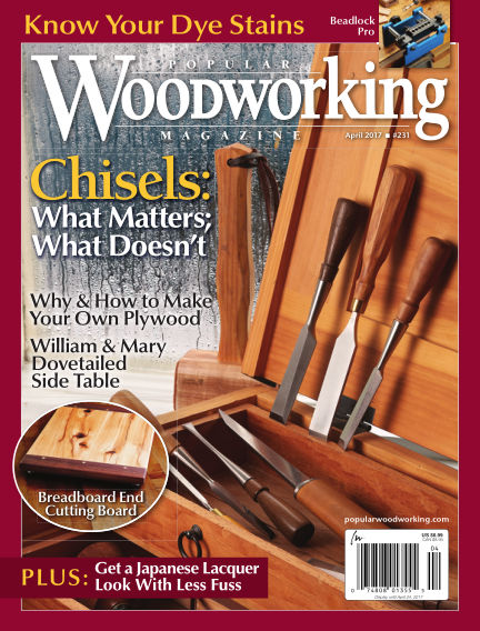 Popular Woodworking February 28, 2017 00:00