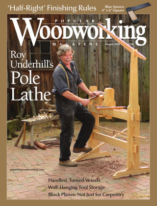 Popular Woodworking August 2016