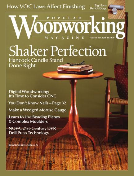 Popular Woodworking November 22, 2016 00:00