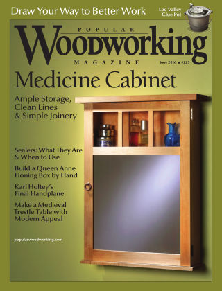 Popular Woodworking June 2016