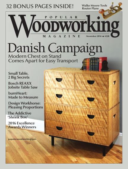 Popular Woodworking October 11, 2016 00:00