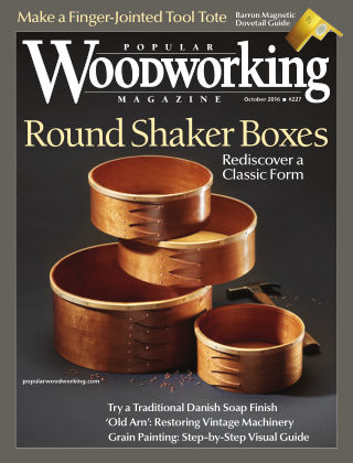 Popular Woodworking October 2016