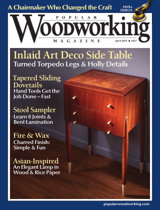 Popular Woodworking April 2015