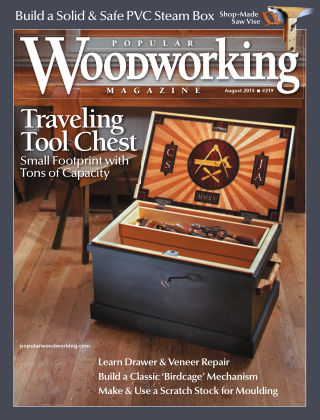 Popular Woodworking August 2015