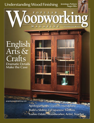 Popular Woodworking December 2015