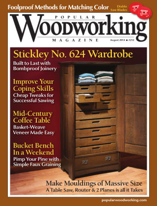 Popular Woodworking August 2014