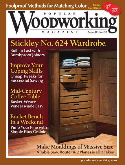 Popular Woodworking June 24, 2014 00:00