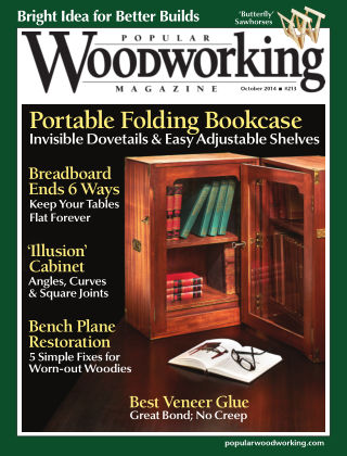 Popular Woodworking October 2014