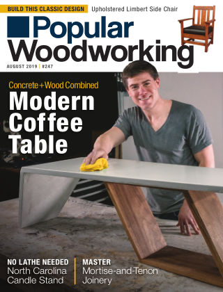 Popular Woodworking August 2019