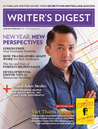 Writer's Digest Jan Feb 2021